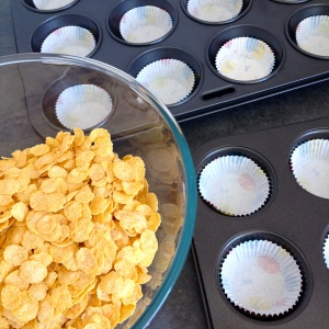 honey joys in the making