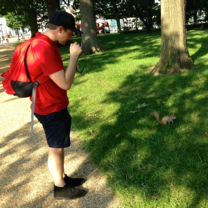 luke and squirrel